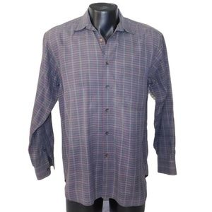 Mens Burberry Collared button down